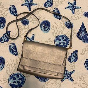 Summer & Rose Gray Crossbody Vegan Leather